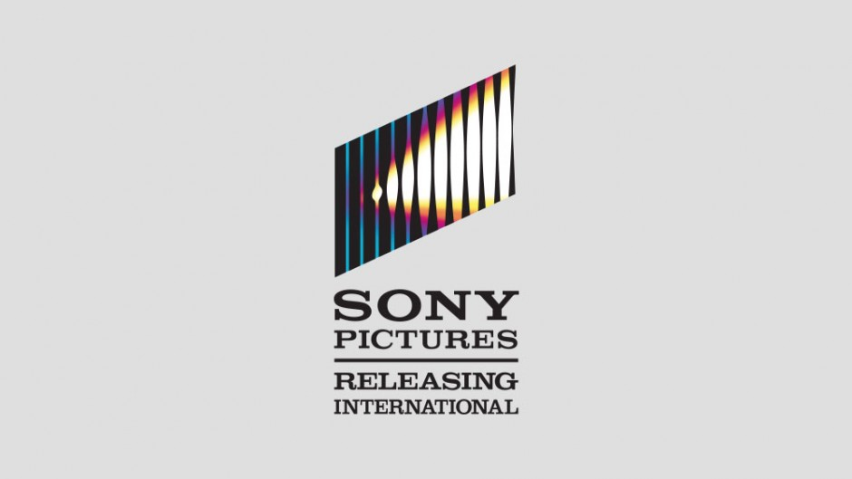 Sony Pictures logo on grey background