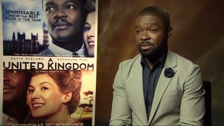 A United Kingdom Junket - David Oyelowo