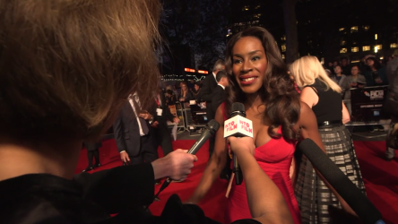Amma Asante at London Film Festival opening gala