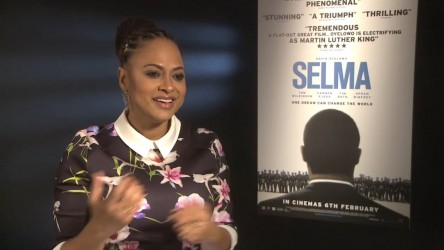 Director Ava DuVernay and actor David Oyelowo about historical drama and Ma