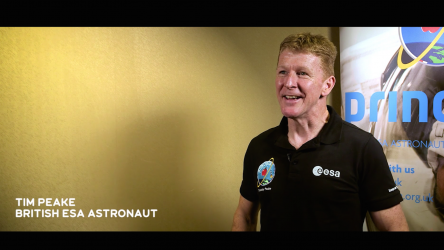 Tim Peake offers Into Space & Home inspiration