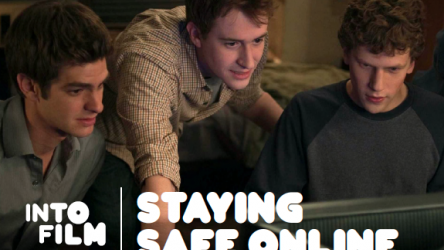 Staying Safe Online 11-16 resource cover