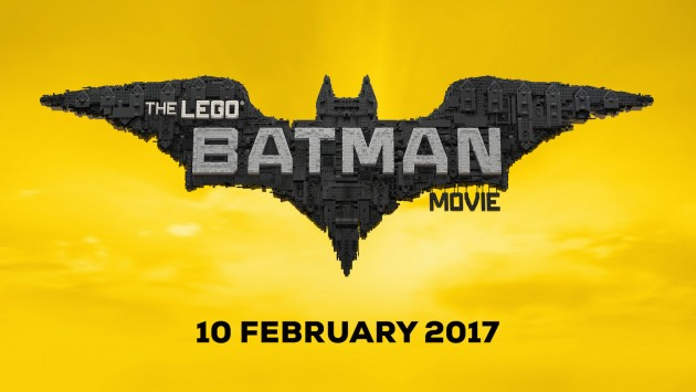 LEGO® Batman poster with date