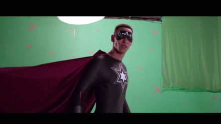 Be the Hero - green screen