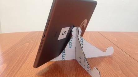 Template for Cardboard iPad Tripod