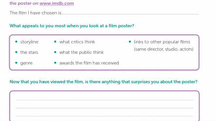 Film poster analysis prompts image