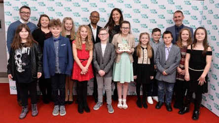 Ysbryd (Ghost) awards winners with Lizo and Eleanor Matsuura