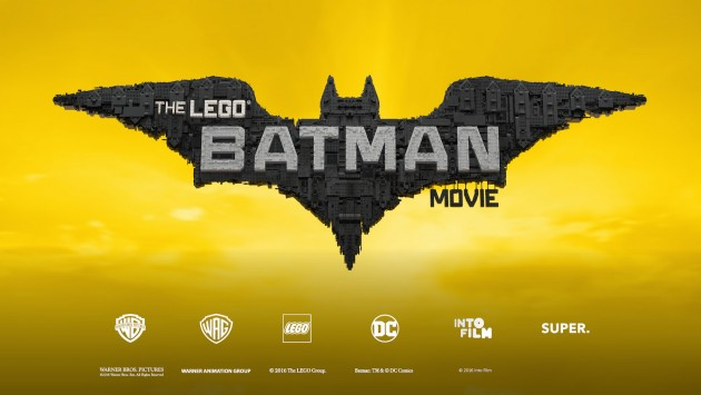 The LEGO® Batman Movie poster + logos