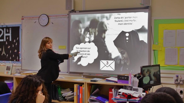 Short Film in Language example