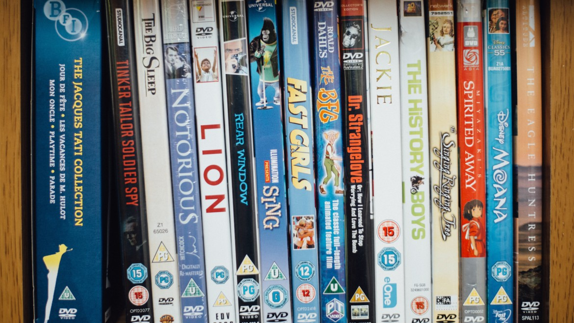 Into Film DVDs
