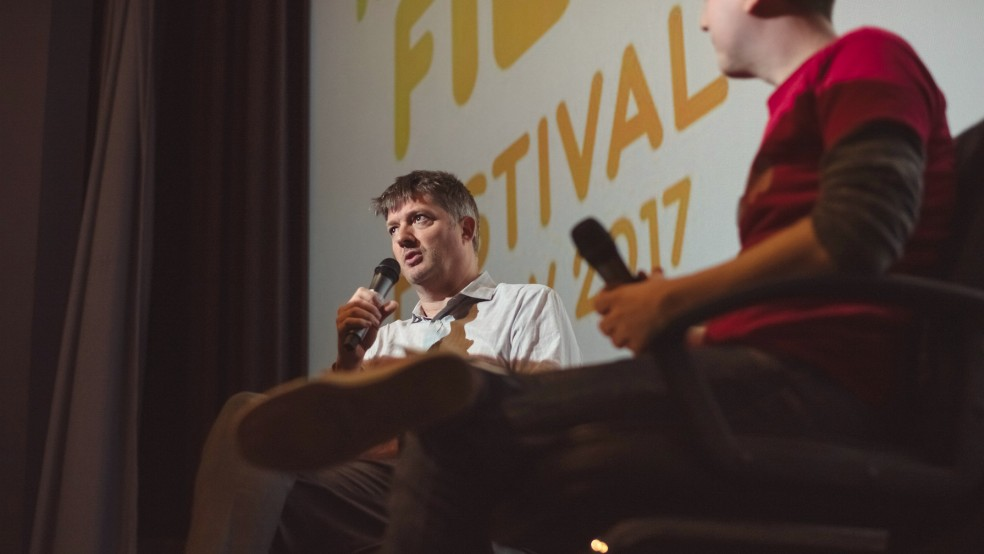 James Prichard at IFF17