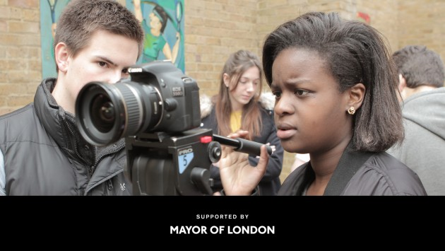 Young London Filming header