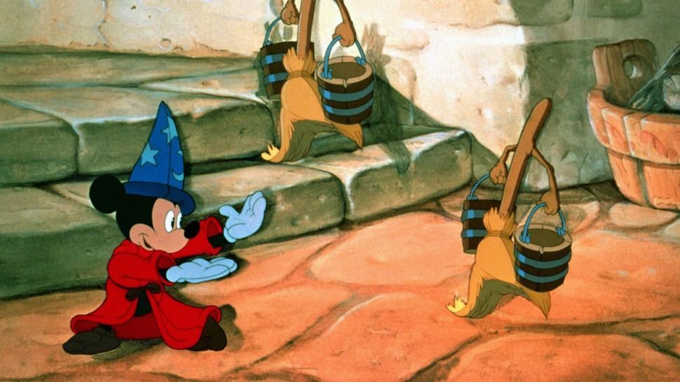 Still from Fantasia (Sorcerers Apprentice)