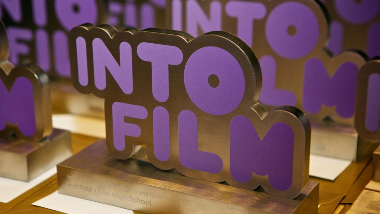 Into Film Award statue