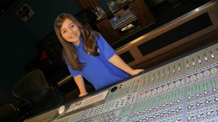 Jess at soundboard