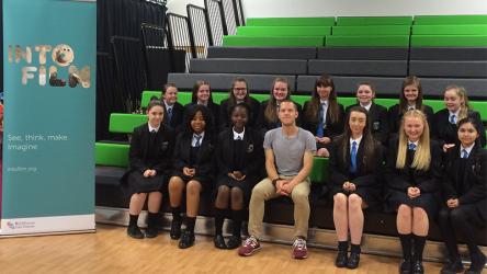 Rob Brown, Sixteen school-visit