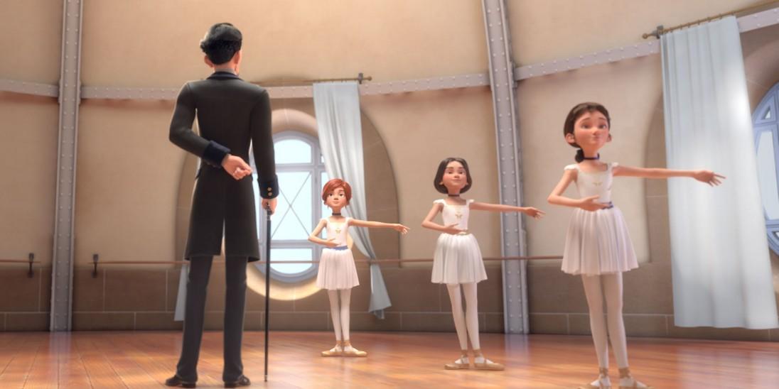 Film ballerina into