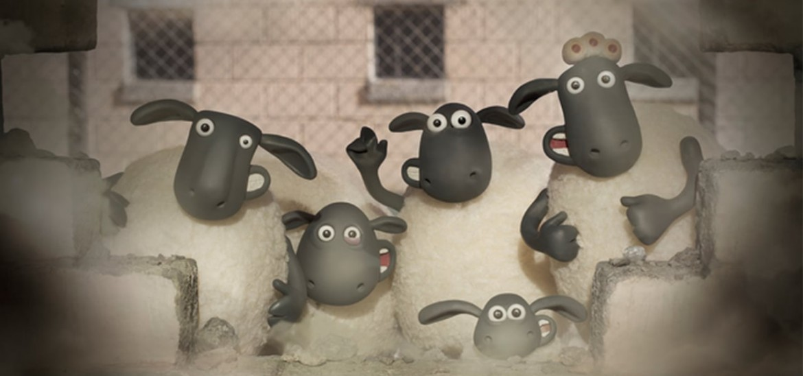 Behind the scenes of Shaun the Sheep The Movie - Part 3